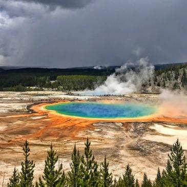 Fantastic 4 day Yellowstone Itinerary