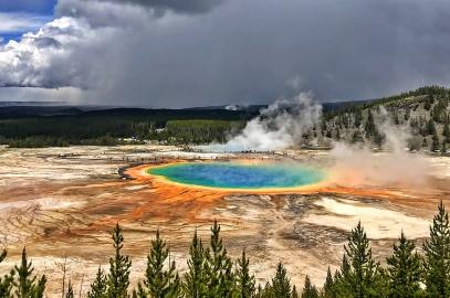 Yellowstone Itinerary 4 days