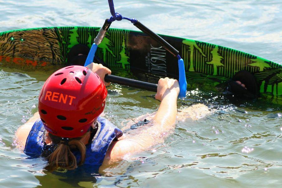 Water sports in Tallinn Estonia wakesurfing