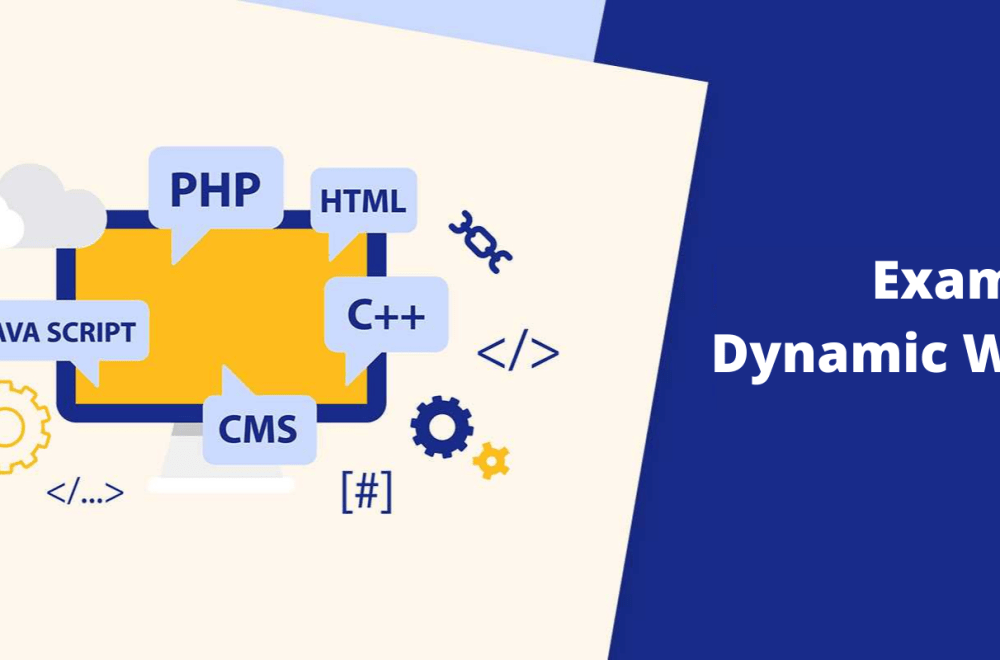 Examples of dynamic websites