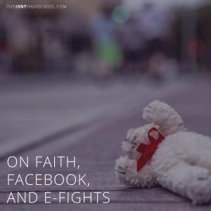 faith facebook efights