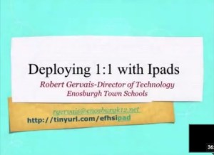 1:1 with iPads