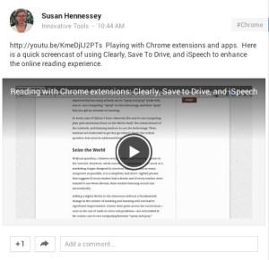 Snagging a screencast on Chromebooks