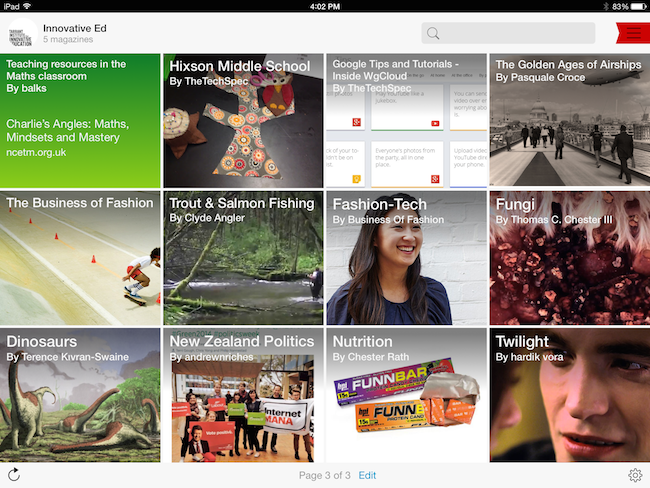 4 ways you can use Flipboard in your flipped classroom