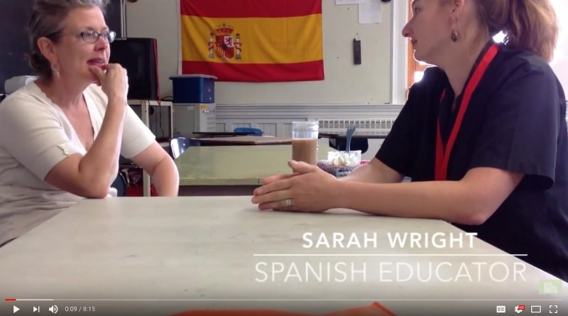 self-paced spanish classroom