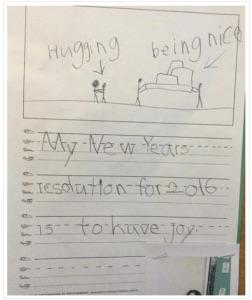 joy in the classroom