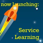 #ready2launch service learning