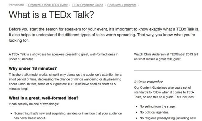 student TED Talks