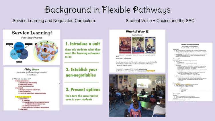flexible pathways and proficiency-based learning