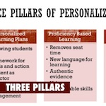 three pillars of personalized learning