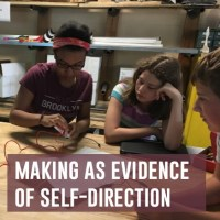 making as evidence of self-direction