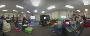 Flexible classrooms Proctor Elementary School