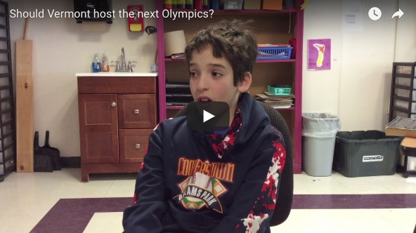 Should Vermont host the next olympics