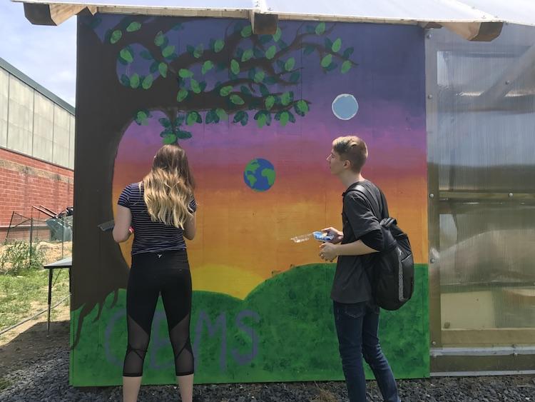 One mural, multiple legacies - Innovation: Education