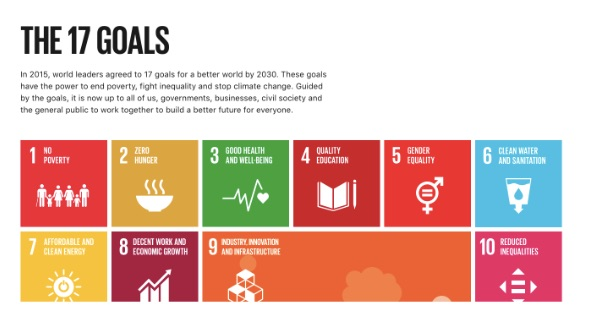 UN Sustainable Global Goals