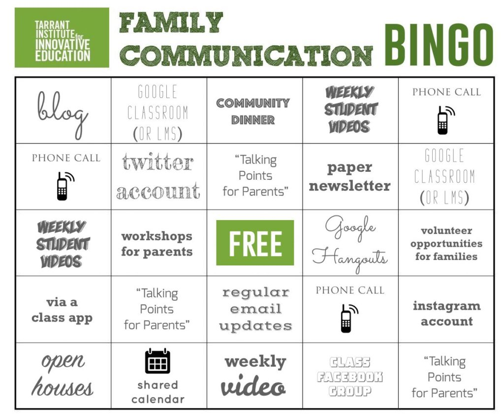 17 Ways To Communicate With Students Families