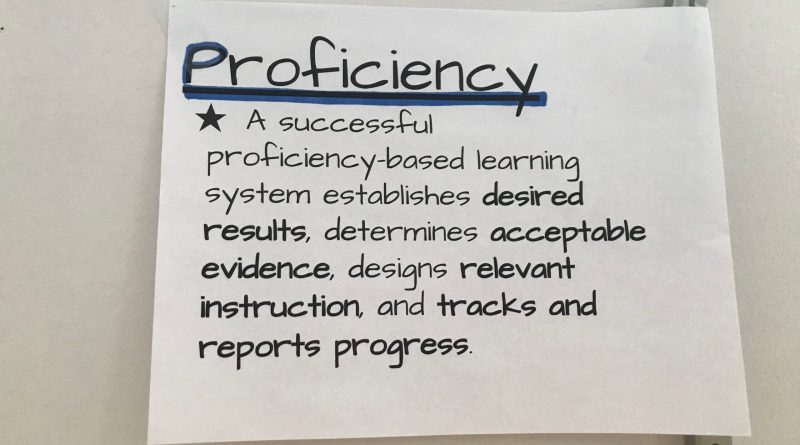 Proficiency goal 3
