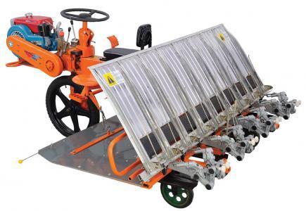 Row Paddy Transplanter Vst Tillers Tractors Ltd 39