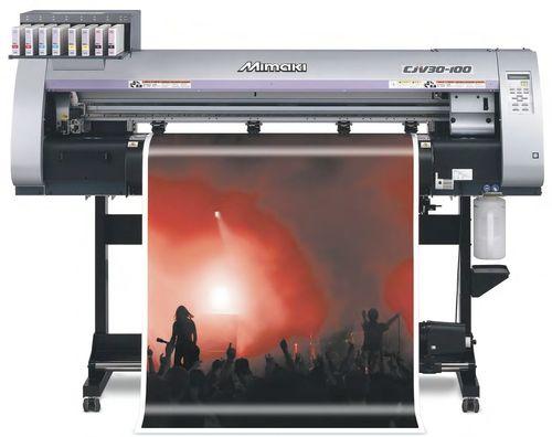 mimaki cjv30 100 poster printer machine