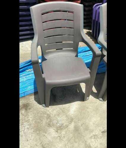 heavy duty plastic chair with armrest