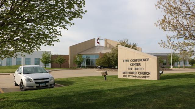 United Methodist Conference Center in Des Moines, Iowa