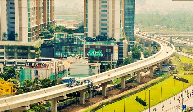 Dự án metro số 1 Bến Thành - Suối Tiên.