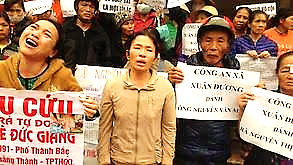SBS Language   Dân oan khắp nơi kéo về biểu tình tại Hà Nội