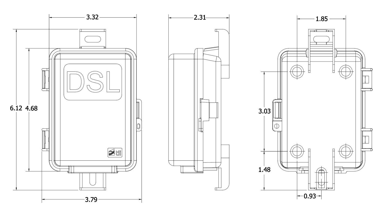 D Series Dsl Pots Splitter Outdoor Ancillary Devices