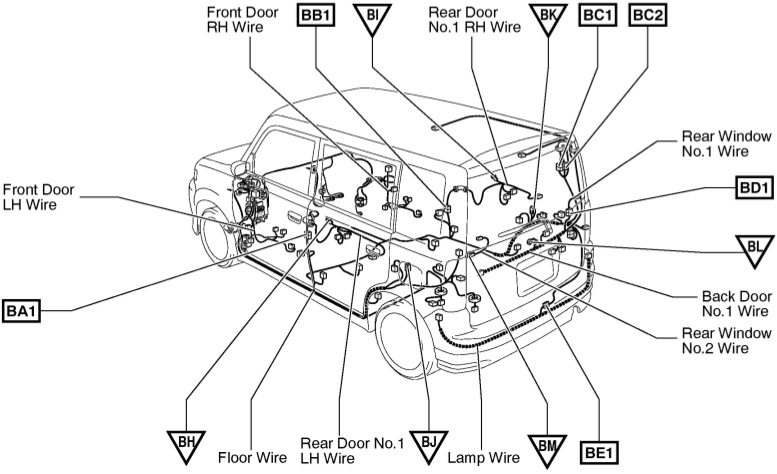 xB_rear_body_wiring_harness01?resize=665%2C406 2017 scion xb wiring diagram wiring diagram 2005 Scion xB Parts Diagram at reclaimingppi.co