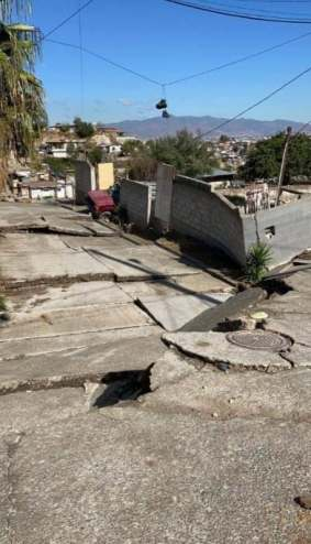 40 viviendas afectadas