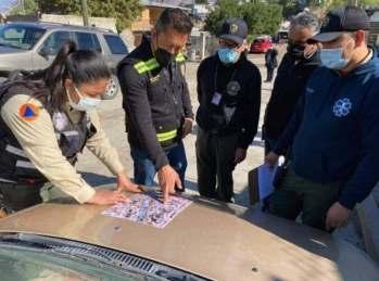 Autoridades municipales y proteccion civil