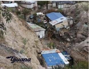 CON DRON MUNICIPIO SOBREVOLARA ZONA DE DESASTRE EN COLONIA 3 DE OCTUBRE..2