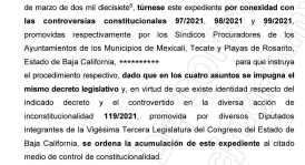 IMPUGNA PRESIDENCIA DE LA REPUBLICA MUNICIPALIZACIÓN DEL AGUA EN BC..,,2
