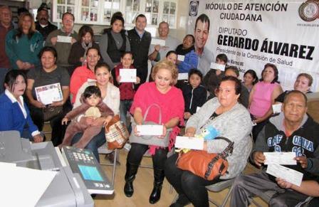 Atiende Gerardo álvarez Necesidades Comunitarias
