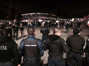 manifestacion ayotzinapa en Tj