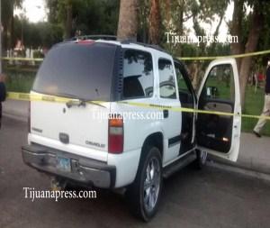 carro donde mataron a policia