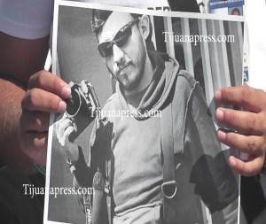 protesta de reporteros en tijuana