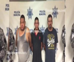 3 presuntos sicarios detenidos