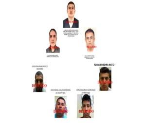 estructura criminal del karateka