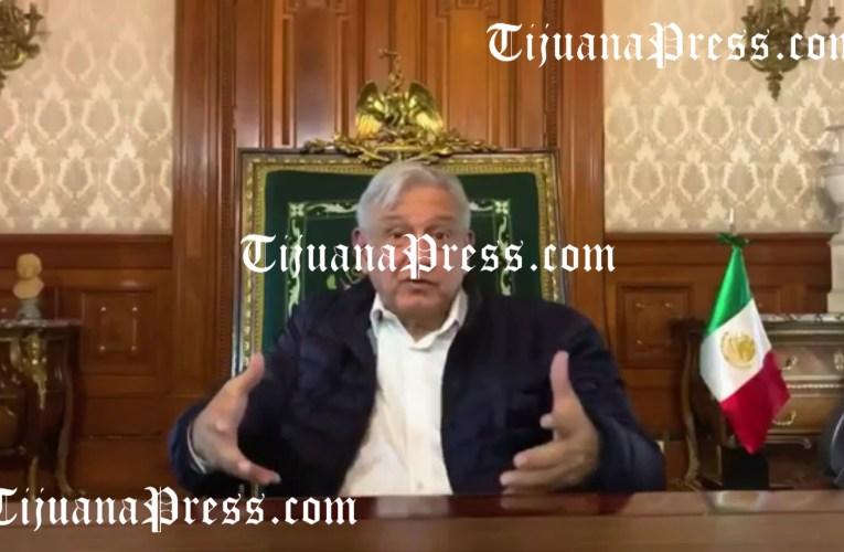 123 muertos en Tijuana; AMLO dice que está domada la pandemia.