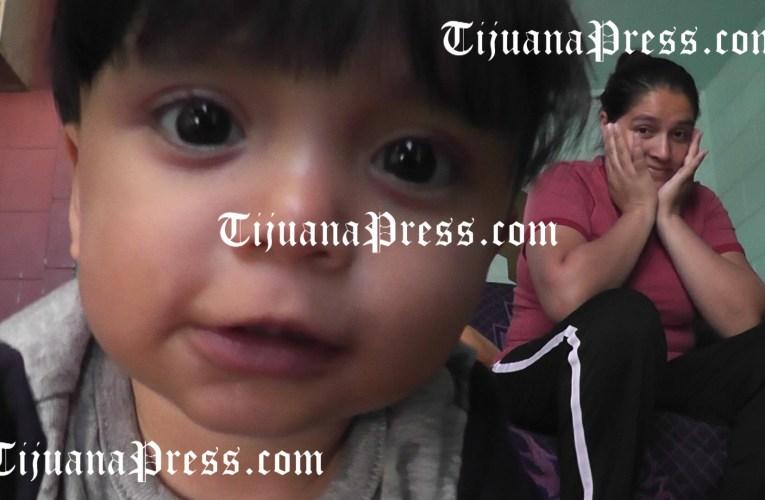 El pequeño Mateo; Una vida buscando asilo.
