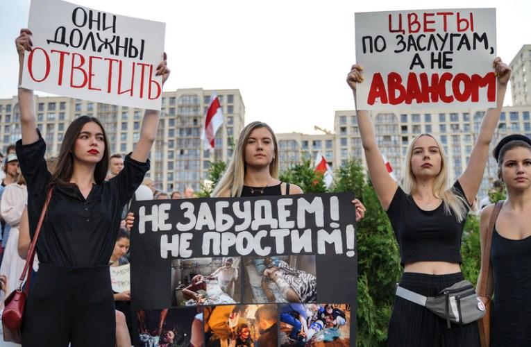 Bachelet insta a detener las violaciones de los derechos humanos en Bielorrusia e insta al diálogo con los manifestantes