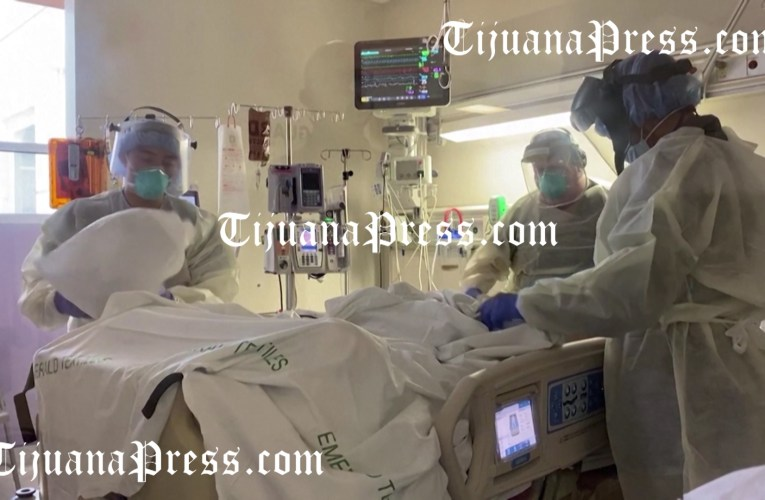Rebasa BC 4000 muertes… y pandemia sube en condados fronterizos con Mexicali