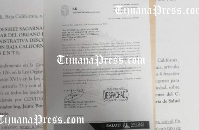 Bonilla no quiere que trabajadores de salud hablen   de Covid con la prensa