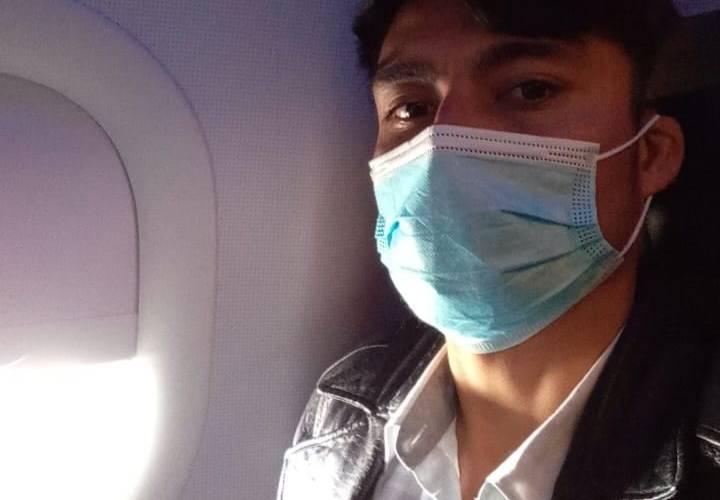 Tras año y medio de espera en Tijuana, peticionario de asilo, ya está en Estados Unidos.