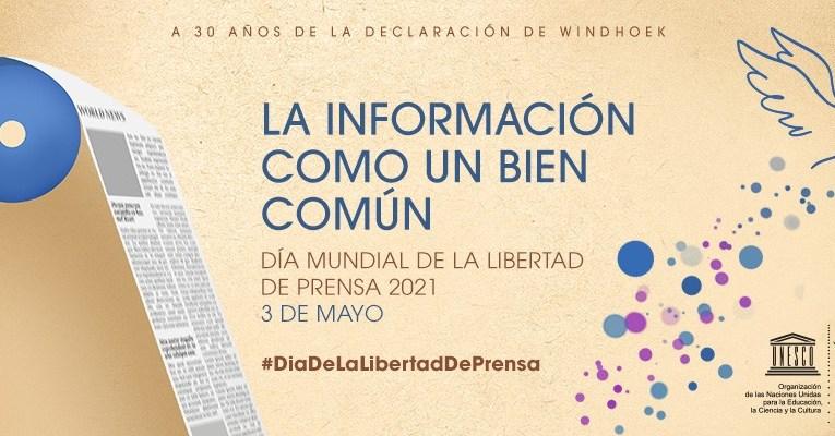 Inician actividades por el día mundial de la libertad de prensa