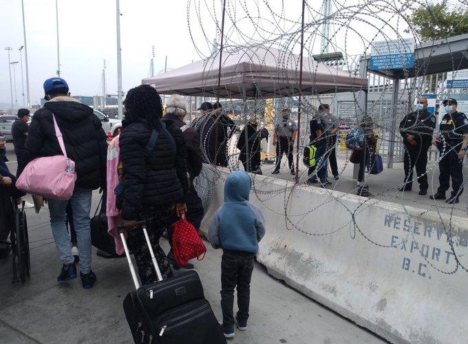 Denuncian malos tratos de la Guardia Nacional contra migrantes legales
