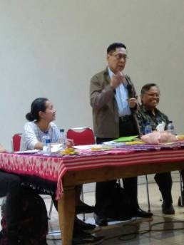Budi Darma dalam acara diskusi buku (1)