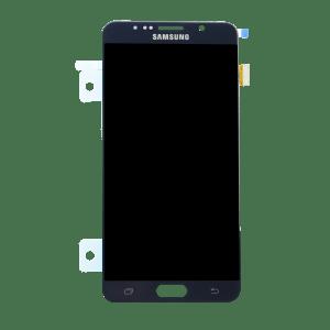 Samsung Note 5 זכוכית קדמית - שחור