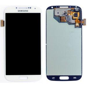 Samsung S4 LCD - לבן